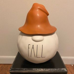 Rae Dunn Fall Gnome Canister